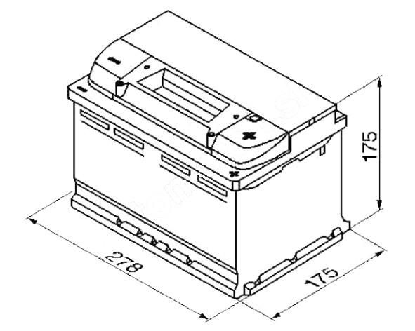 autobaterie varta silver dynamic 74ah 12v e38. Black Bedroom Furniture Sets. Home Design Ideas