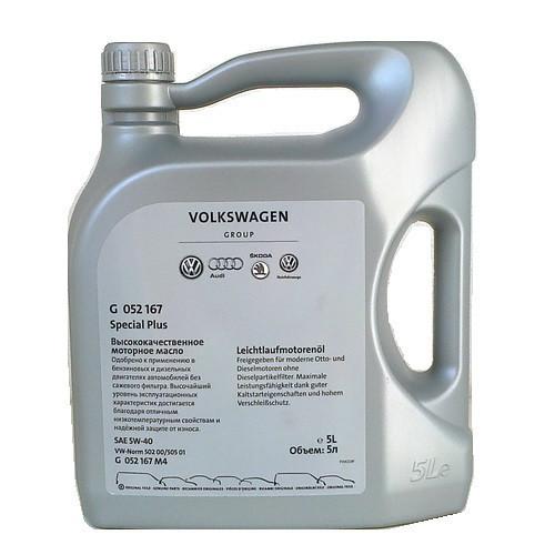 Motorový olej VAG 5W-40 Originál G052167M4 - 5L