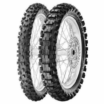 110/90D17 60M, Pirelli, SCORPION MX EXTRA J