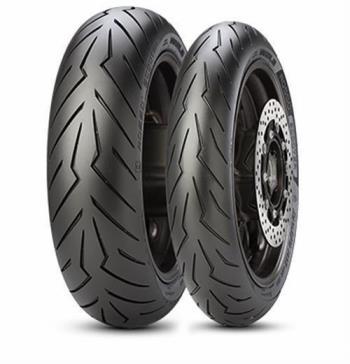 110/70D12 47P, Pirelli, DIABLO ROSSO SCOOTER