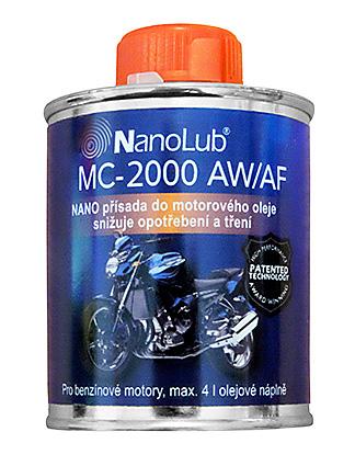 NanoLub® MC-2100 AW/AF NANO přísada do motorového oleje motocyklů 60ml