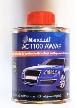 NanoLub® AC-1100 AW/AF NANO přísada pro naftové motory 250ml