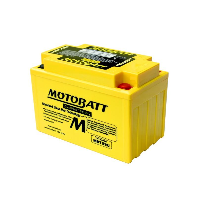 Motobaterie MOTOBATT 12V 10.5Ah 160A MBTX9U