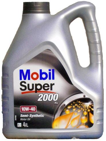 Olej MOBIL Super 2000 X1 10W40 - 4L