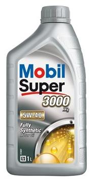 Olej MOBIL Super 3000 X1 5W40 - 1L