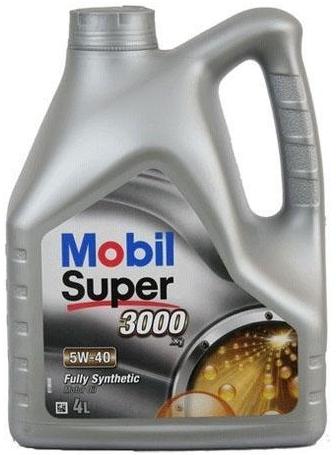 Olej MOBIL Super 3000 X1 5W40 - 4L