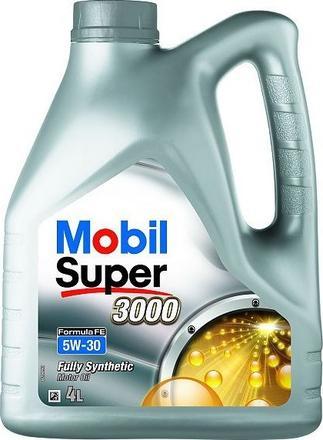 Olej MOBIL Super 3000 X1 FORMULA FE 5W30 - 4L